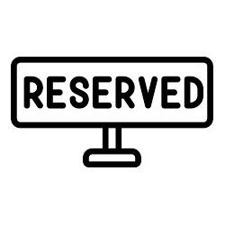 Reservation fee